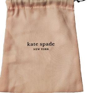 Kate Spade Large Jewelry Pouch/Dustbag NWOT